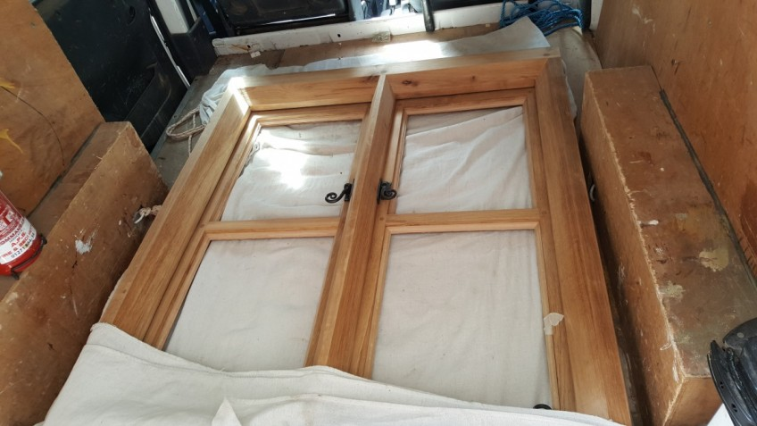 English Oak Window