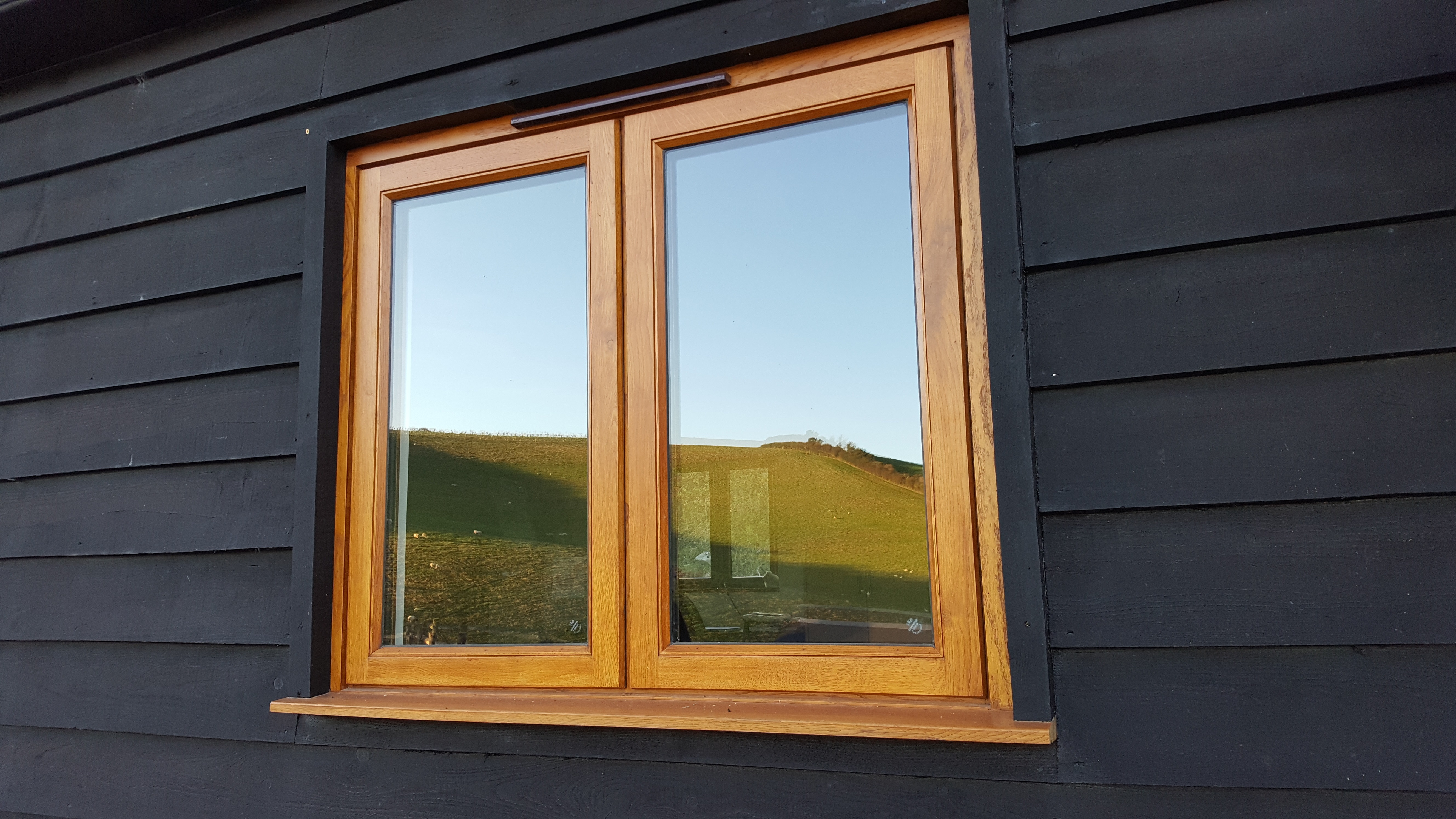 Materials and prices for wooden windows 75