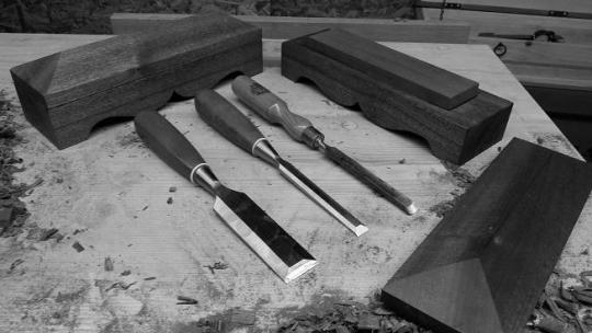 Hardwood Oilstone Box
