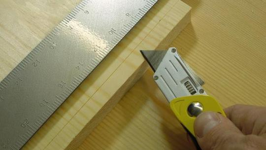 Cutting to a Knife line
