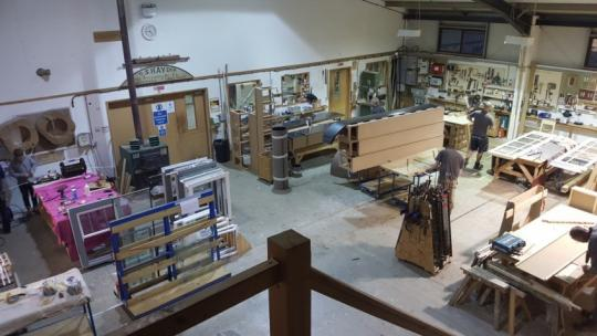 Joinery Workshop Devon