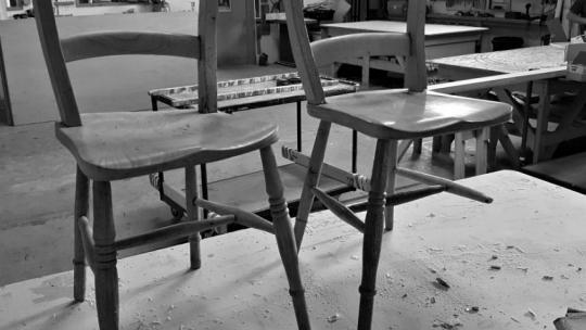 Wooden Chair Repair Devon