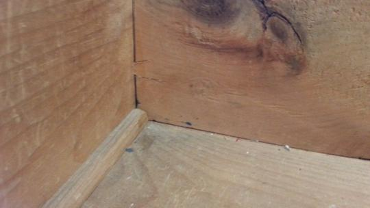 Over Cutting Dovetails