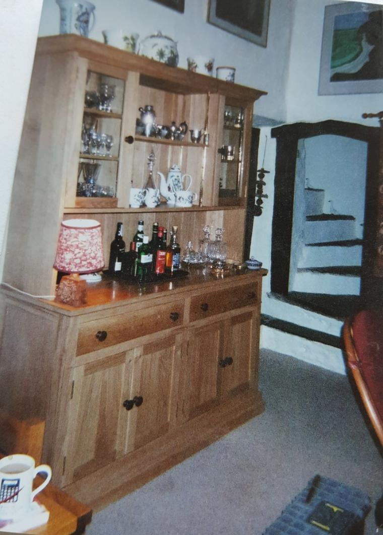 Handmade Oak Dresser