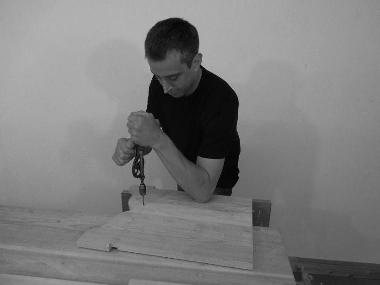 Drilling for the Six Board Chest
