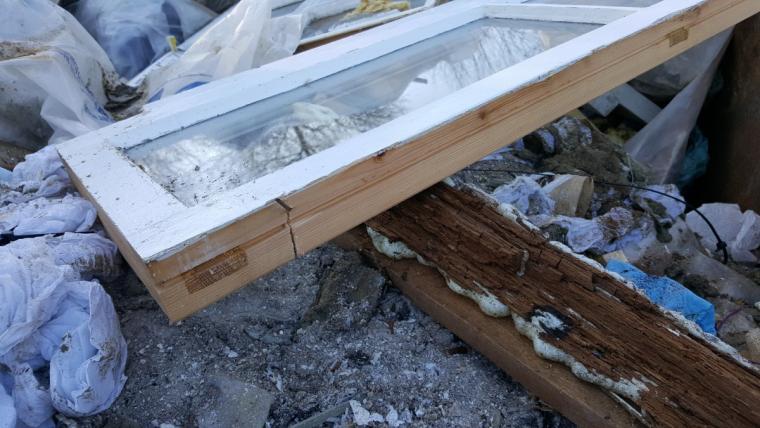 Rotten Timber Window