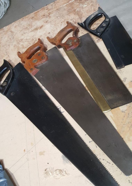 Saws Sharpened