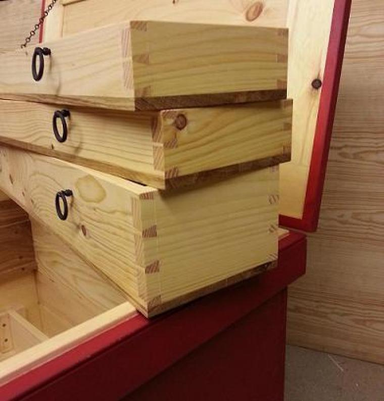 Tool Chest Drawers