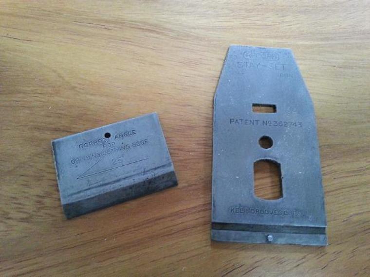 Two Piece Cap Iron