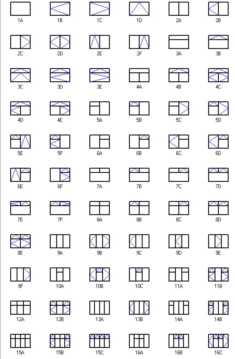 Window Hanging Chart