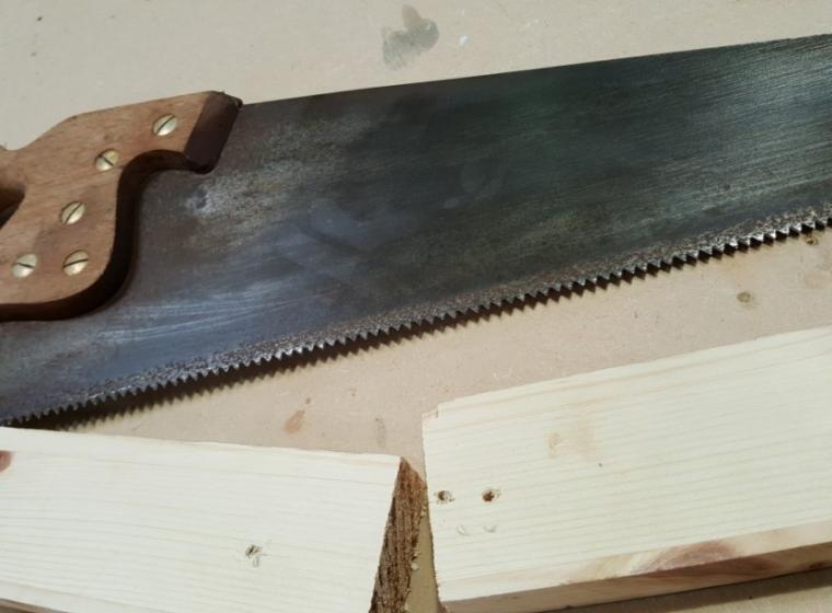 Sharpened Saw