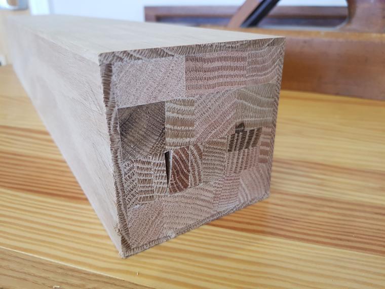 Engineered Oak Newel Post