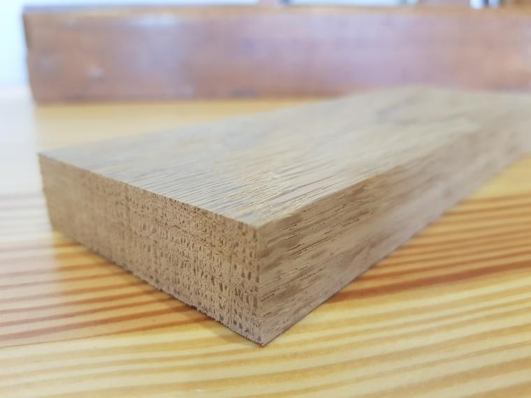 Solid Oak Compared to Vennered Oak