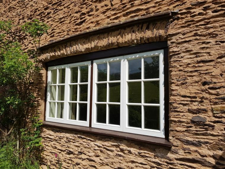 Red Grandis Windows Made In Devon