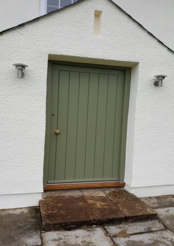 Bespoke Wood Door North Devon