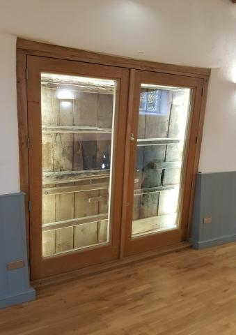 Large Wooden Bespoke Doors Devon