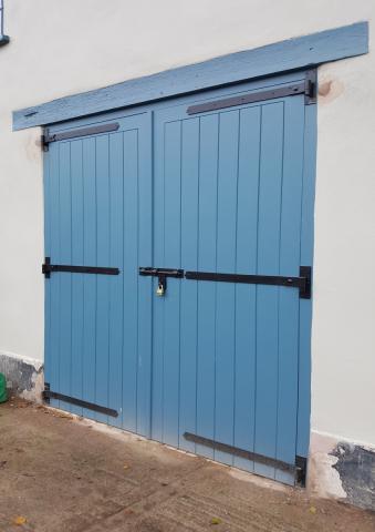 Solid Wood Garage Doors Devon