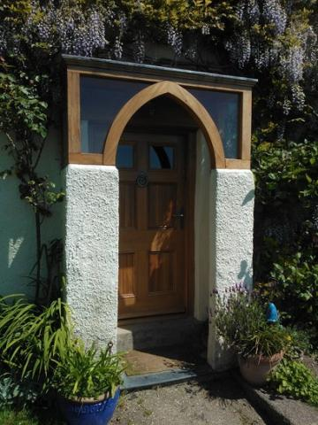 Oak Entrance Door