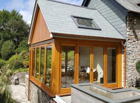 Solid Wood Conservatory