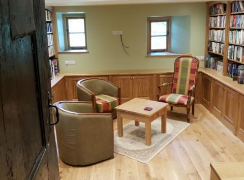 Bespoke Library Room