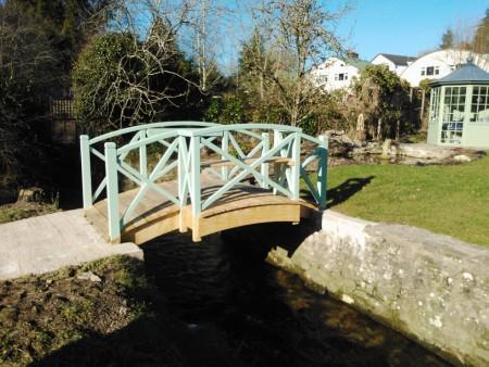 Wooden Bridge Structure
