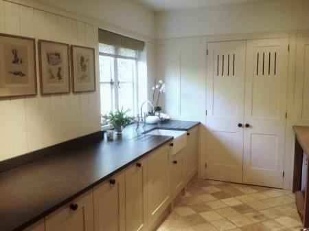 Utility room kitchen area