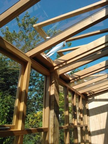 Wooden Conservatory Structure