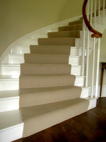 Elliptical staircase and handrail