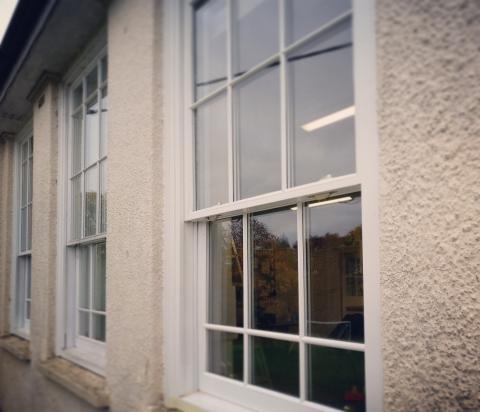 hardwood sliding sash windows