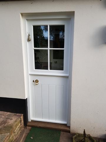 Slim Double Glazed Doors Devon