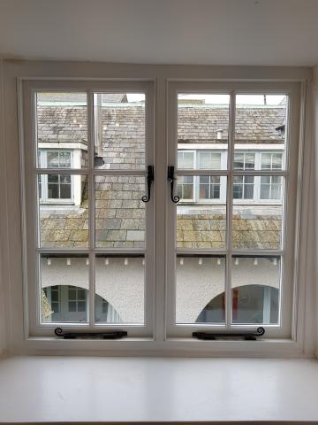 Custom made Hardwood Windows North Devon