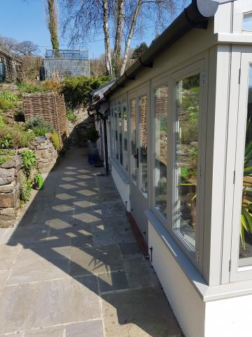 Painted Bespoke Conservatories North Devon