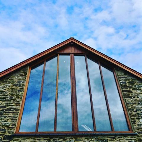 Hardwood Gable Window Devon