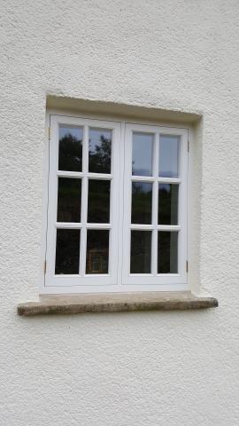 Hardwood Double Glazed Windows Devon