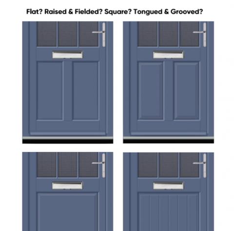 Different Types of Wooden Door Panels