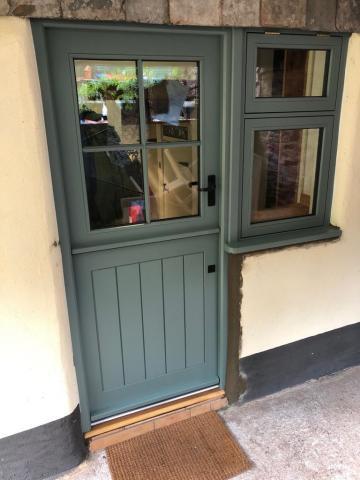Double Glazed Stable Door Devon