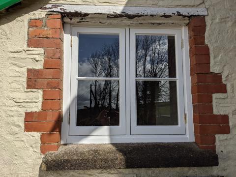 Single Glazed Accoya Window Devon