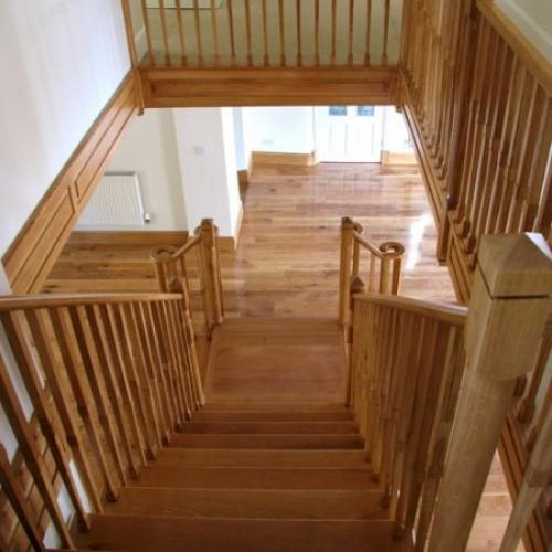 Bespoke Oak Stairs Devon