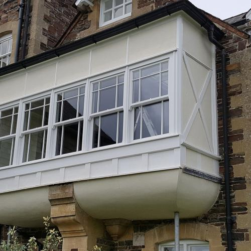 Bay Window Devon Joinery