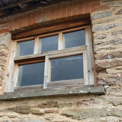 Barn Window Installed