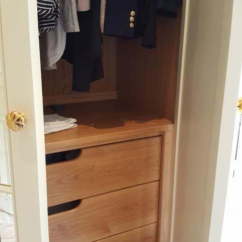 Bespoke Joinery Wardrobe North Devon