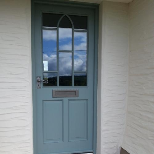 Hardwood Front Door Devon