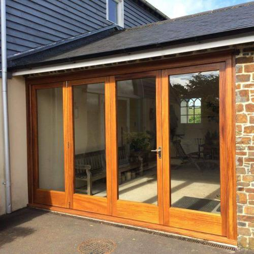Hardwood Bi-Fold Doors Devon