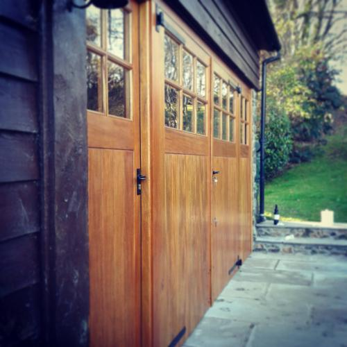 Hardwood Garage Doors Devon