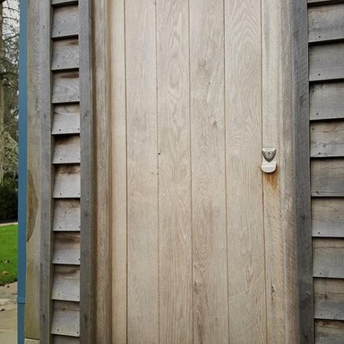 Solid Oak Barn Doors Devon