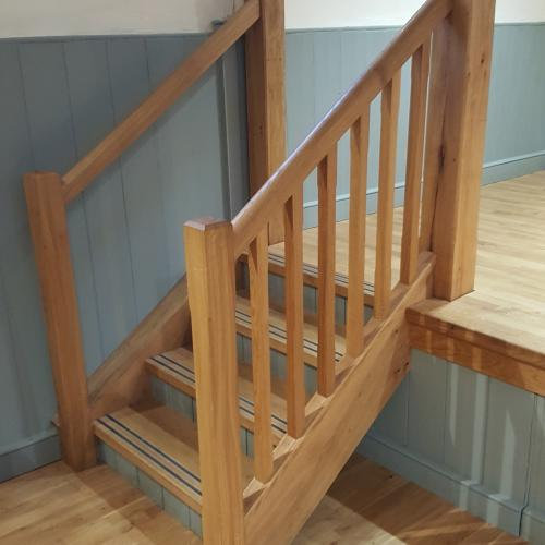 Oak Stairs North Devon Joiners