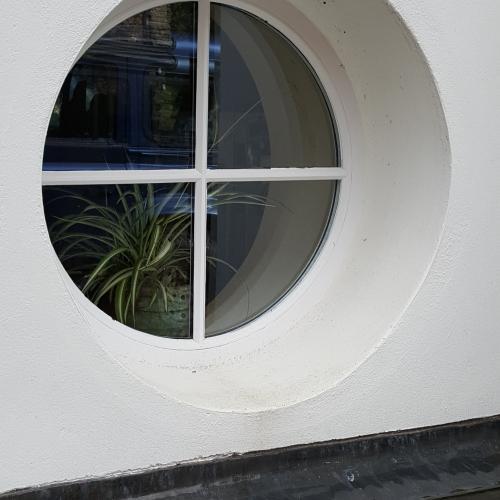 Circular Wood Window