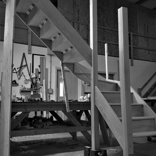 Wood Staircase Devon