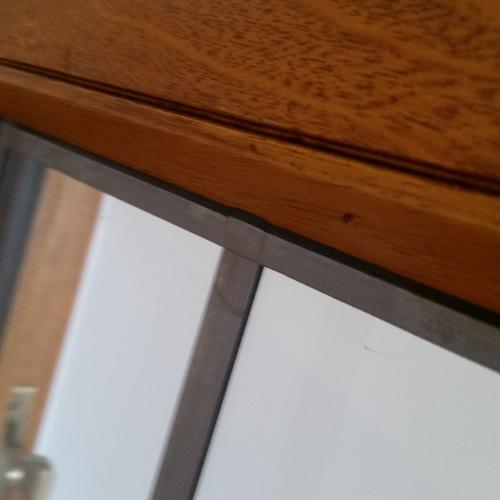 Decorative Lead Applied to Windows
